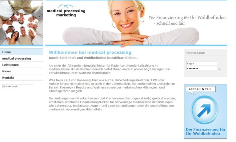 medical processing