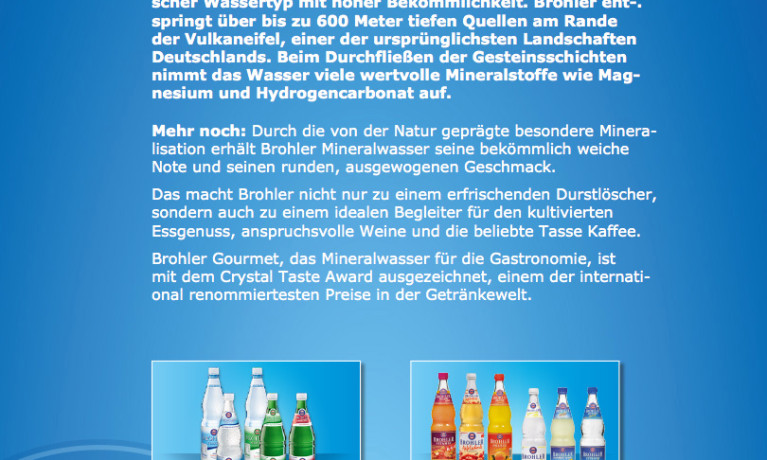 Brohler – Produkte Tab
